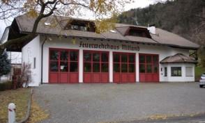 Dienstleistung Feuerwehrhalle Millan